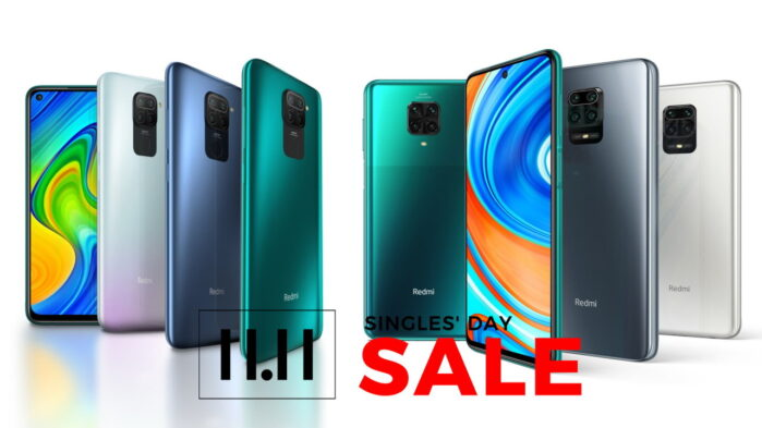 Redmi Note 9 Note 9 pro e Redmi 9c single day 11.11 offerta prezzo