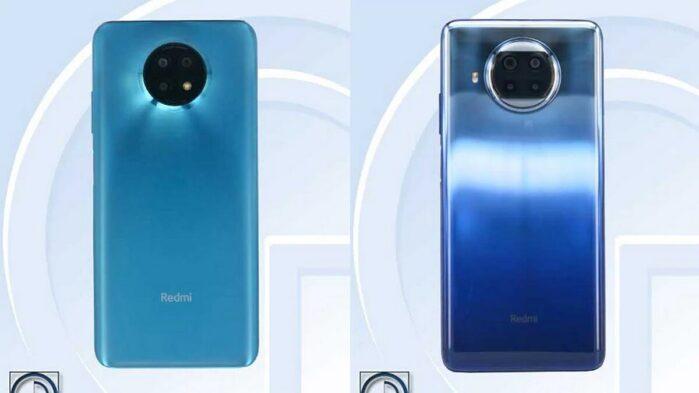Redmi Note 9 Pro 5G e Note 9 5G TENAA