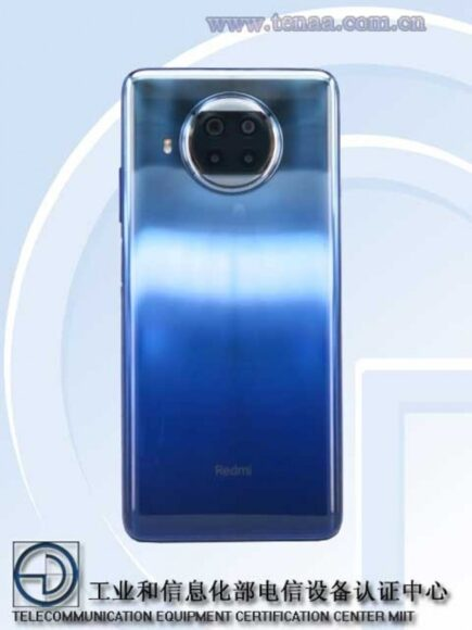 Redmi Note 9 Pro 5G posteriore