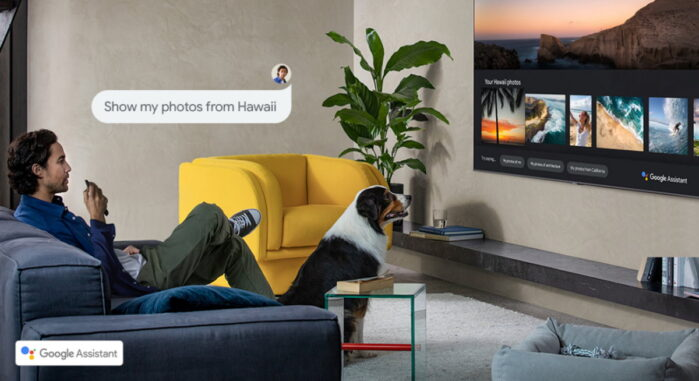 Samsunt Smart TV 2020 assistente Google Italia