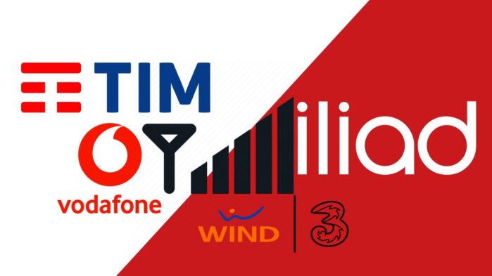 TIM Vodafone iliad WindTre esperienza mobile Opensignal novembre 2020