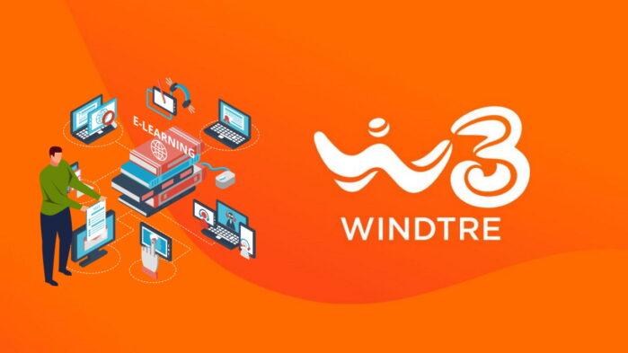 WindTre didattica a distanza 50 Giga e-learning
