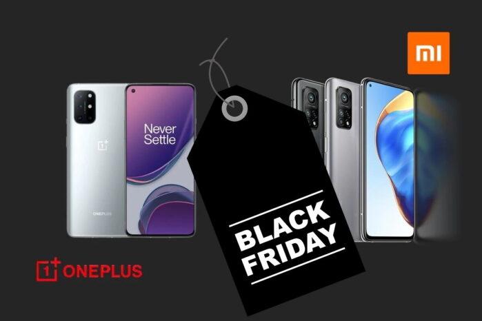 Xiaomi e OnePlus migliori offerte Black Friday 2020 con o senza coupon