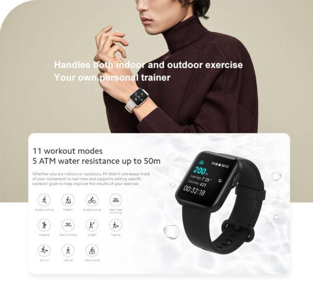 Attività Xiaomi MI Watch Lite