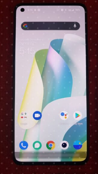 Display frontale OnePlus 9 5G