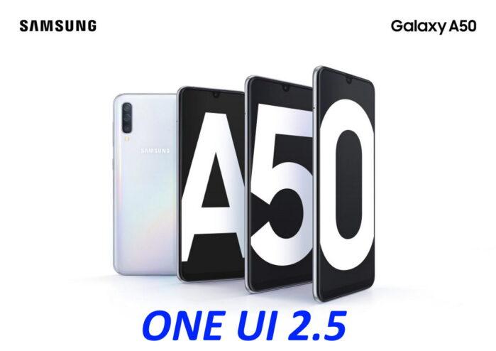 Galaxy A50 aggiornamento ONE UI 2.5 iniziato le novità