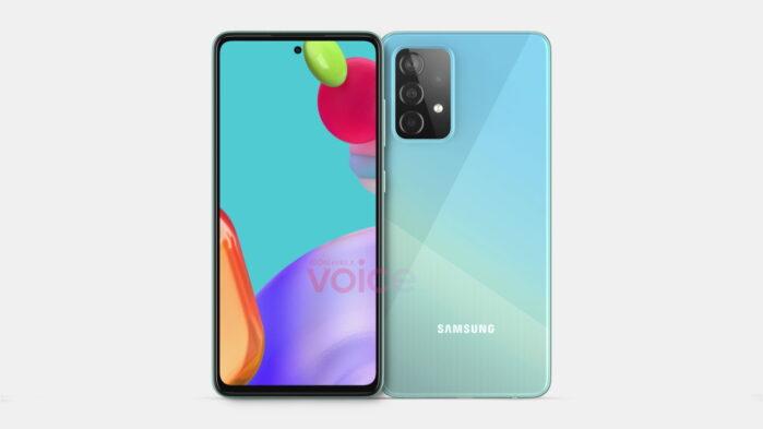Galaxy A52 5G design simile al Galaxy A51 5G