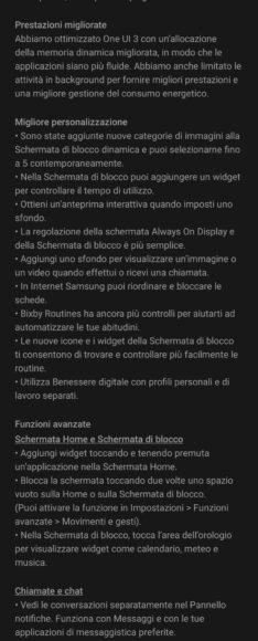 Galaxy Note 10 e 10 Plus aggiornamento Android 11 in Italia 2