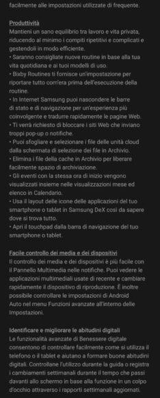 Galaxy Note 10 e 10 Plus aggiornamento Android 11 in Italia 3