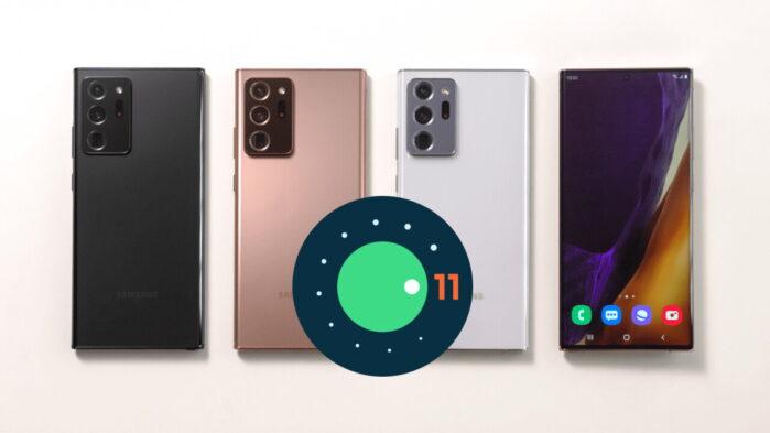Galaxy Note 20 aggiornamento Android 11 negli USA