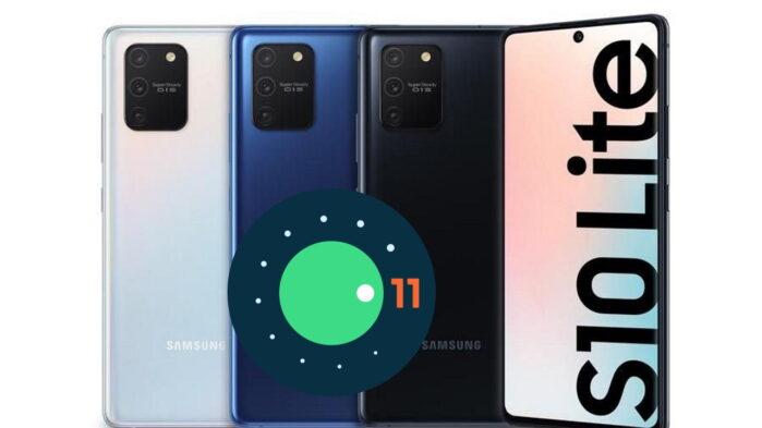 Galaxy S10 Lite aggiornamento Android 11 ONE UI 3.0