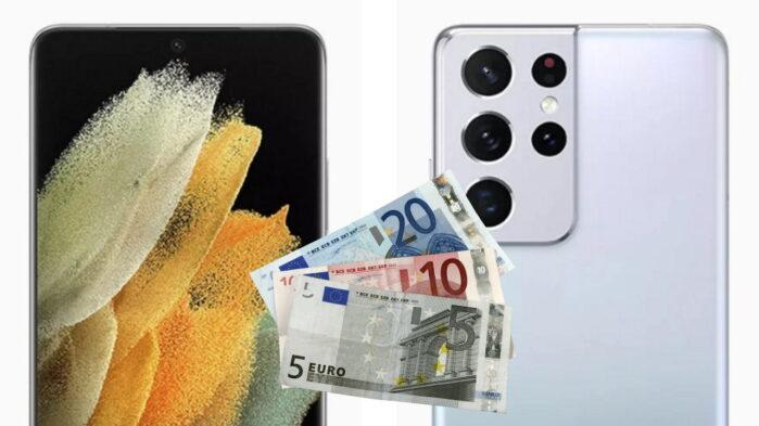 Galaxy S21 prezzi ufficiali in Europa