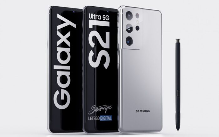 Galaxy s21 Ultra con S Pen, colori e memoria