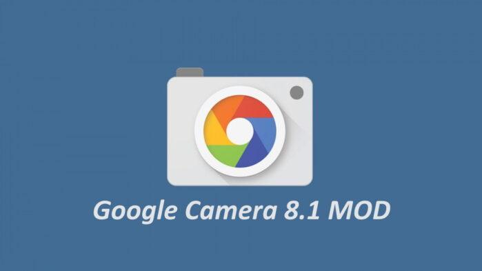Google Camera 8.1 MOD per smartphone Android non Pixel