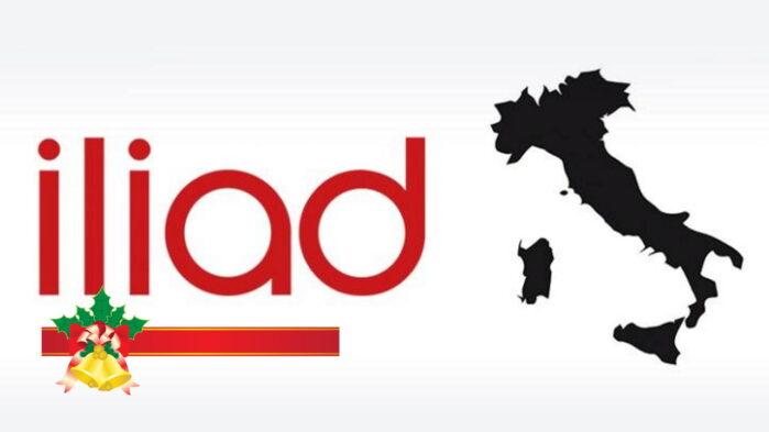 Iliad Giga illimitati solidarietà digitale a natale