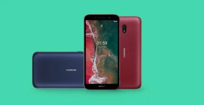 Nokia C1 Plus design 1