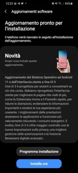 One UI 3.0 Galaxy S20