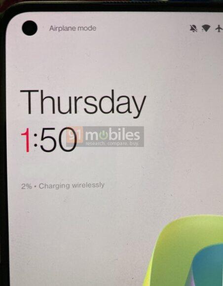 OnePlus 9 ricarica rapida wireless rumors 2