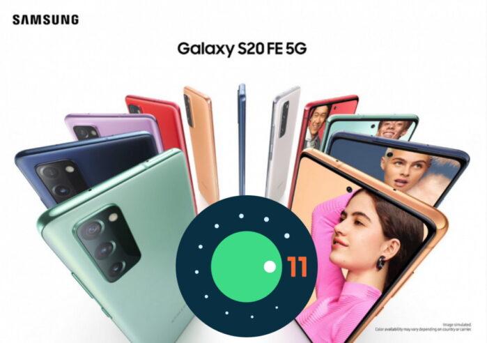 Samsung Galaxy S20 FE si aggiorna ad Android 11 con ONE UI 3.0 (in russia)