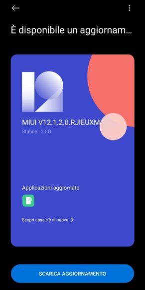 Xiaomi MI 10 Lite 5G Aggiornamento Android 11 MIUI 12