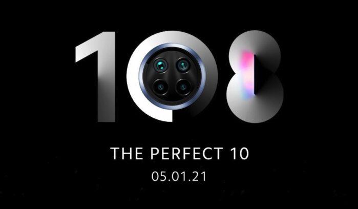 Xiaomi MI 10i 5G evento 5 gennaio 2021