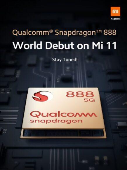 Xiaomi MI 11 Snadpragon 888