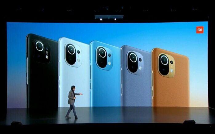 Xiaomi MI 11 colori