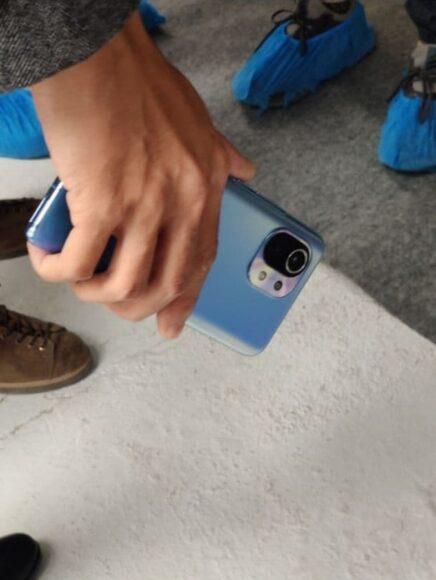 Xiaomi MI 11 foto dal vivo 2