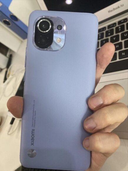 Xiaomi MI 11 fotocamere