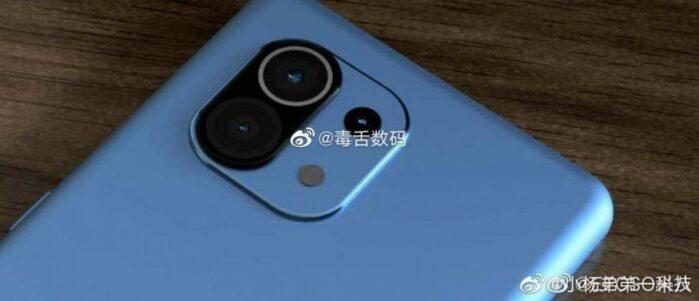 Xiaomi MI 11 render 1