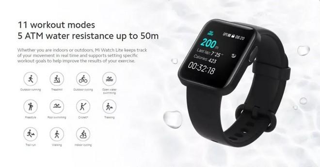 Xiaomi Mi Watch modalità sport disponibili