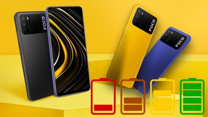Xiaomi Poco M3 recensione autonomia batteria