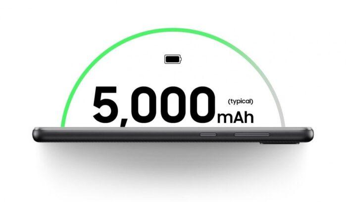 Galaxy A02 batteria da 5000 mAh