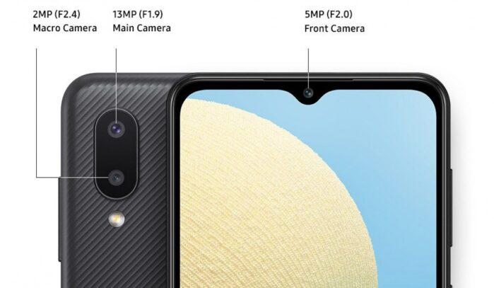 Galaxy A02 fotocamere