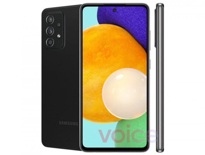 Galaxy A52 5G render