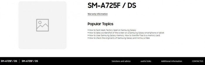 Galaxy A72 Samsung russia