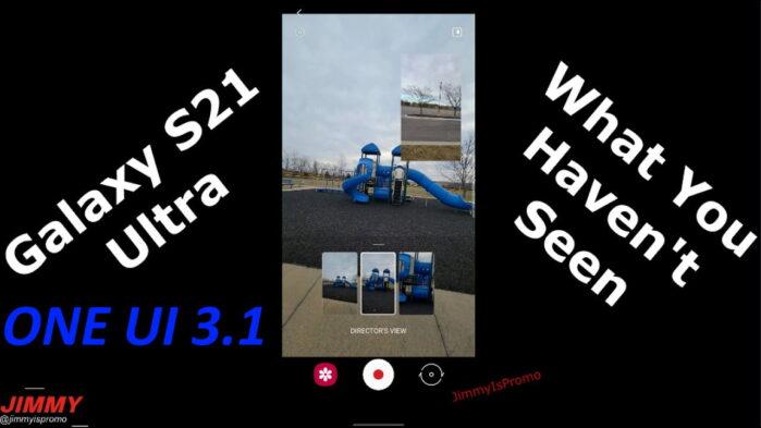 Galaxy S21 Ultra One UI 3.1 in video le novità