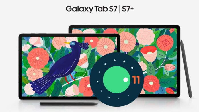 Galaxy Tab S7 si aggiorna ad Android 11 con ONE UI 3.1