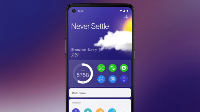 OxygenOS 11 Launcher per alcuni smartphone Oneplus con Android 10