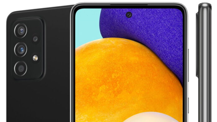 Samsung Galaxy A52 e Galaxy A72 5G immagini render