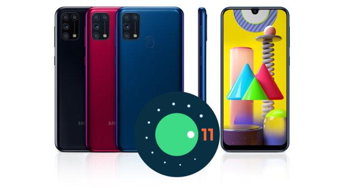 Samsung Galaxy M31 aggiornamento Android 11 ONE UI 3.0