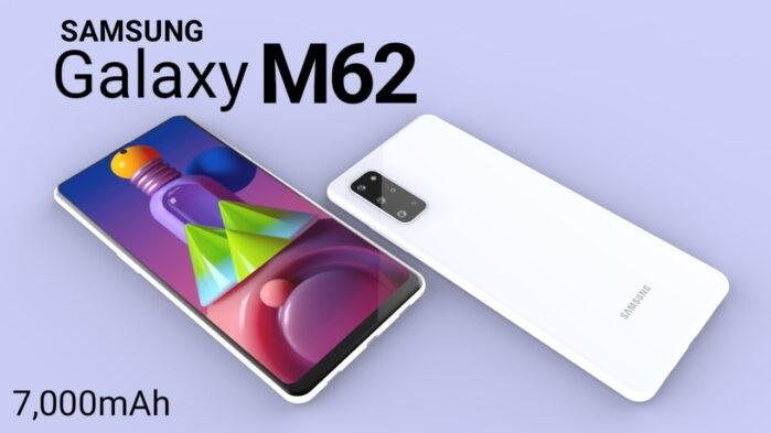 Samsung Galaxy M62 con batteria da 7000 mAh