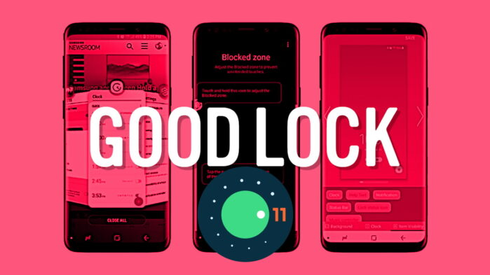 Samsung Good Lock 2021 compatibile Android 11 con One UI 3.0