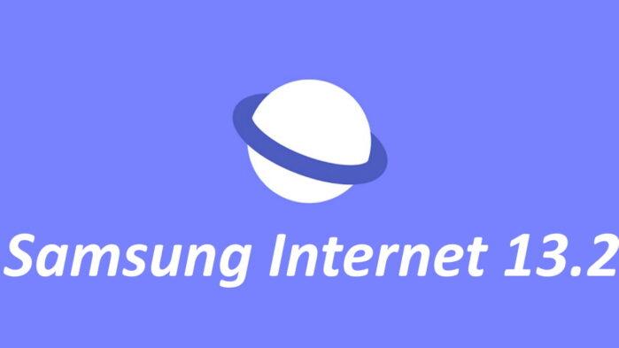 Samsung Internet 13.2 aggiornamento novità