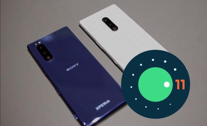 Sony Xperia 1 e Xperia 5 si aggiornano ad Android 11