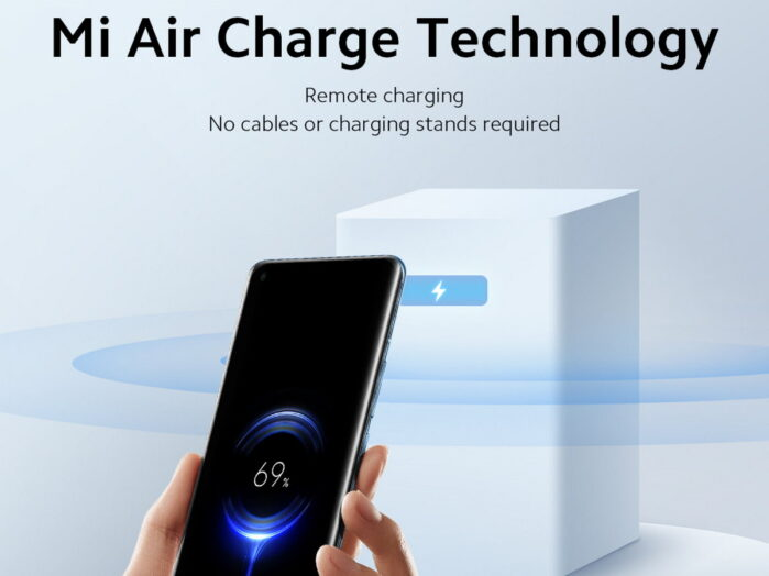 Xiaomi MI Air charge nuova tecnologia wireless on the air