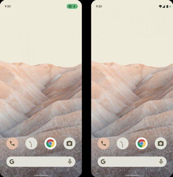 Android 12 cambio interfaccia nuove funzionalità