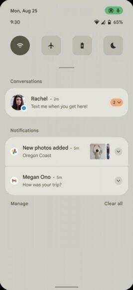 Android 12 icone impostazioni rapide