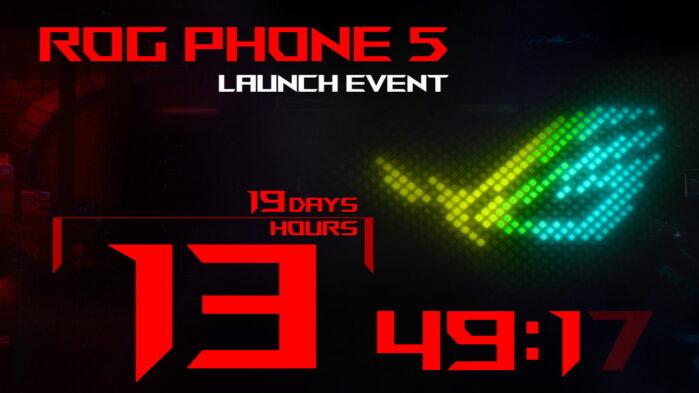 Asus Rog Phone 5 nome confermato data evento