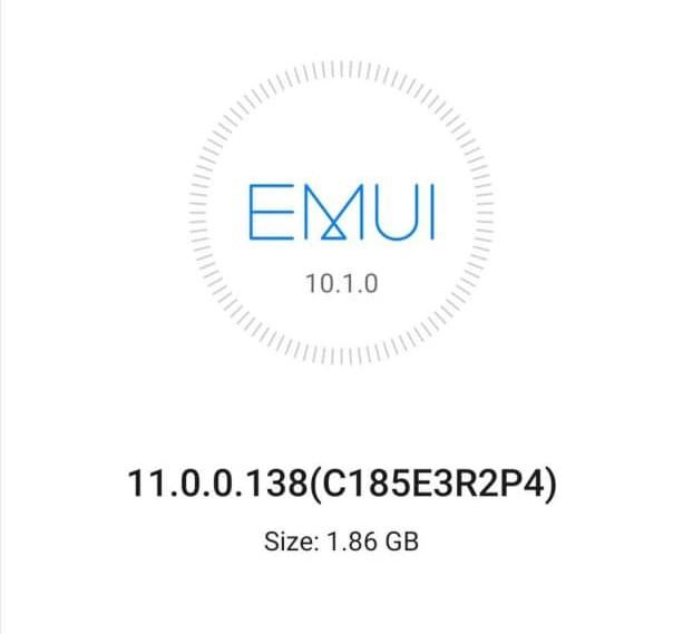EMUI 11 Huawei Mate 20 Europa